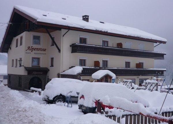 Foto invernale di presentazione Residence Alpenrose
