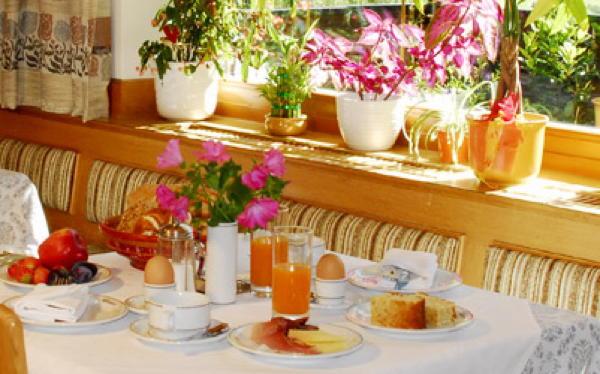 Das Frühstück Residence Alpenrose