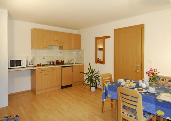 Foto der Küche Alpenrose