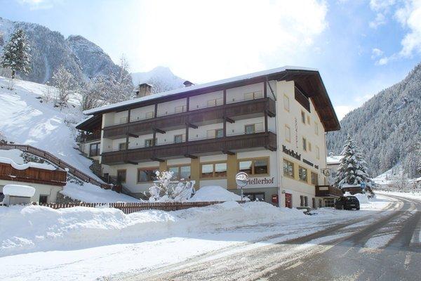Foto invernale di presentazione Hotel Martellerhof
