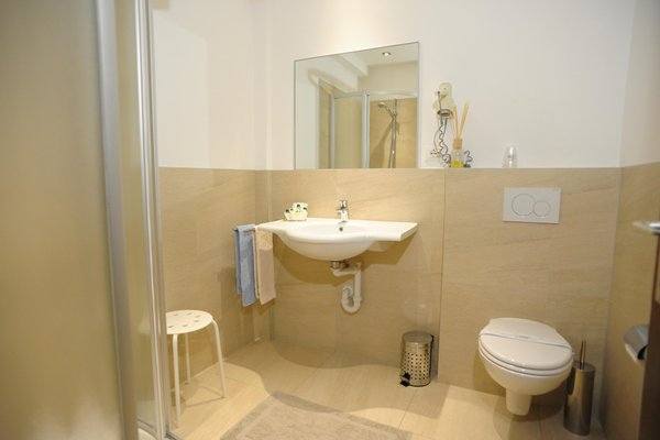 Foto del bagno Hotel Martellerhof