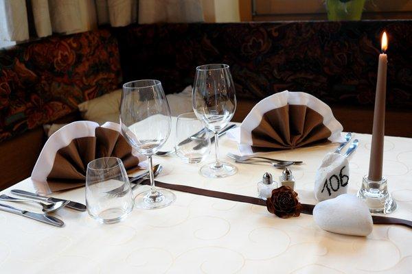 Il ristorante Val Martello Martellerhof