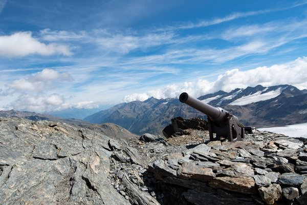 Panoramic view Val Martello / Martelltal
