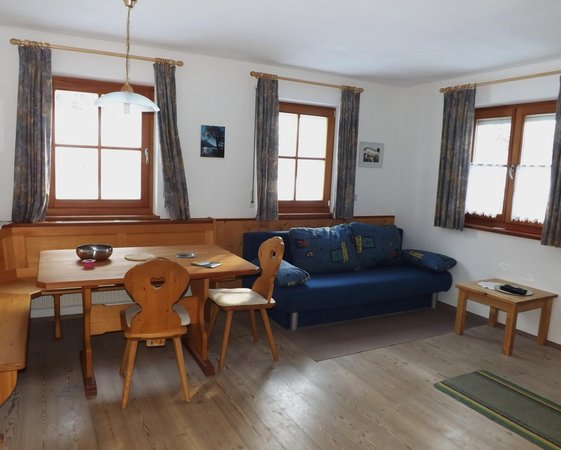 La zona giorno Auhaus - Appartamenti 3 soli
