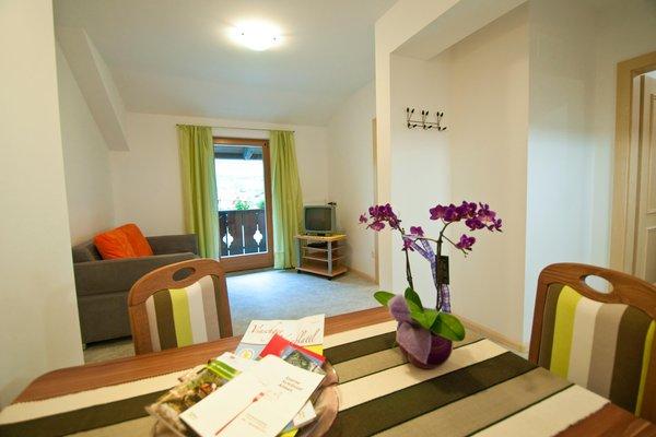 La zona giorno Wielander Sackgut - B&B + Appartamenti 3 fiori