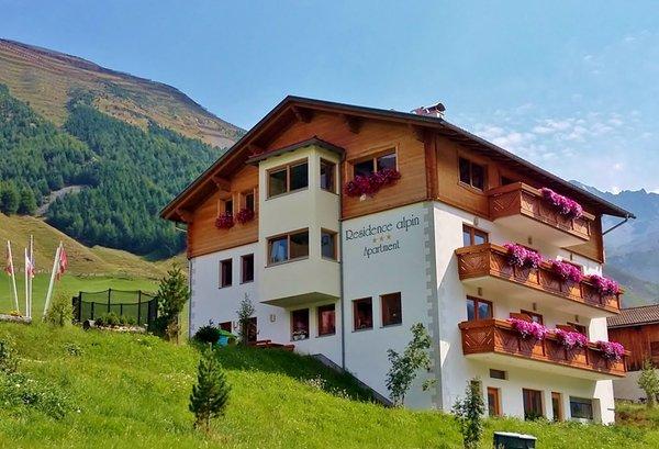 Foto estiva di presentazione Alpin - Residence 3 stelle
