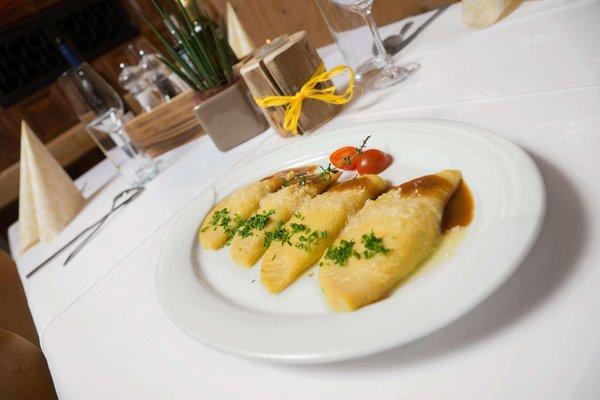 Il ristorante Resia Schwarzer Adler