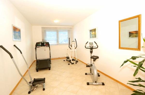 Foto della zona fitness Residence Daniela