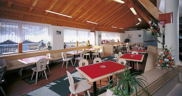 Das Restaurant St. Valentin auf der Haide Hütten-Hotel Haideralm