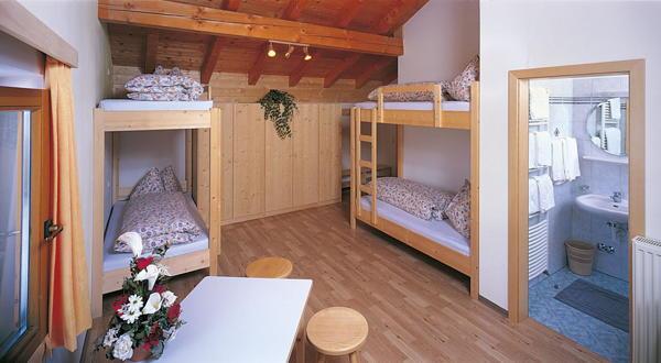Foto vom Zimmer Hütten-Hotel Haideralm