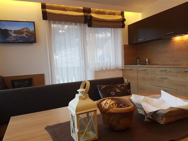 Foto della cucina b&b apartments Monika