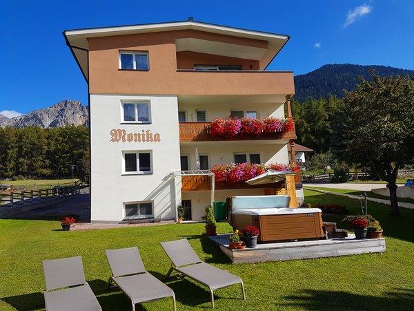 Foto estiva di presentazione b&b apartments Monika