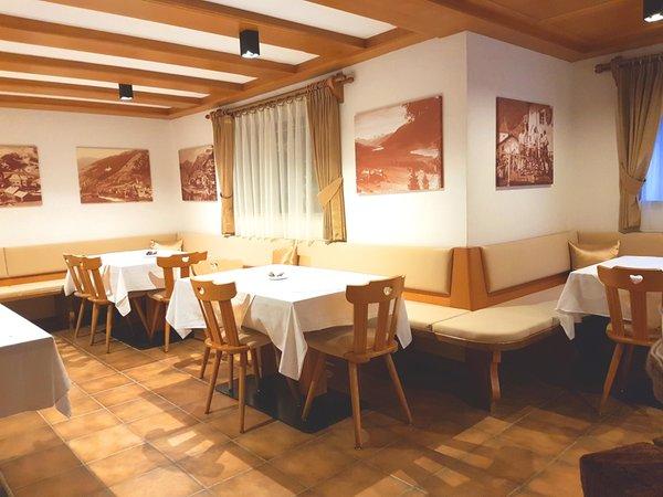 Il ristorante San Valentino alla Muta b&b apartments Monika