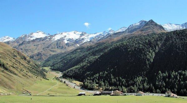 Panorama Curon (Val Venosta)