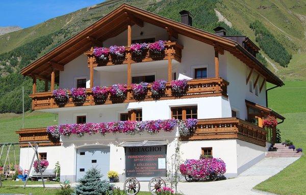 Foto esterno in estate Melaghof