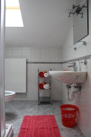 Foto del bagno Appartamenti in agriturismo Pichlhof