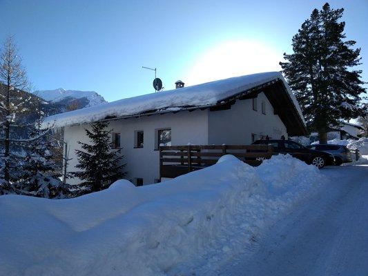 Foto esterno in inverno Spinhof