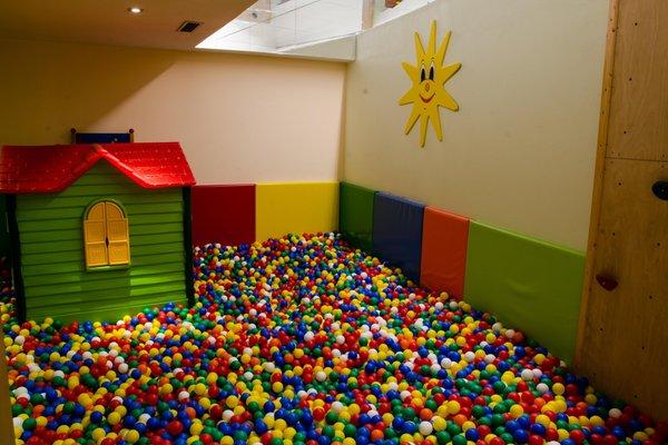 La sala giochi Hotel Engel