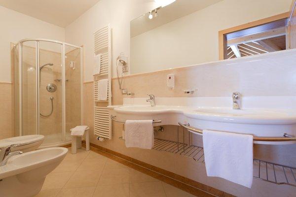 Foto del bagno Hotel Glieshof