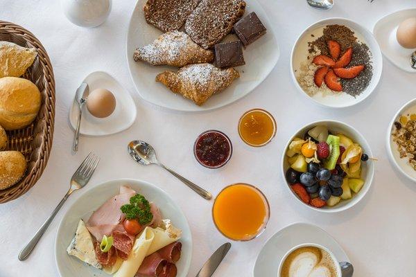 La colazione Hotel Glieshof