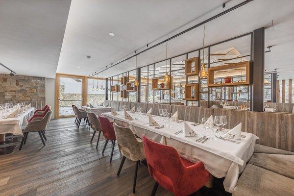Il ristorante Malles Glieshof