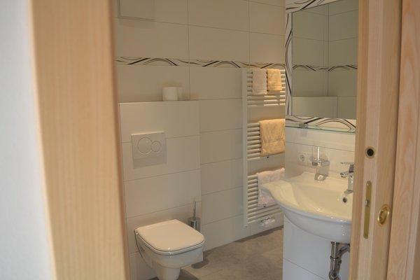 Foto del bagno Pensione Bruggerhof