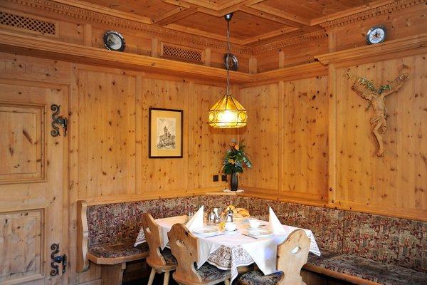 Il ristorante Malles - Burgusio Bruggerhof