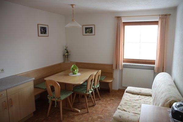 La zona giorno Röfen Hof - Appartamenti 4 fiori