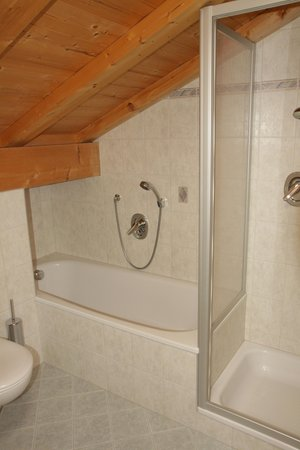 Foto del bagno Appartamenti Röfen Hof