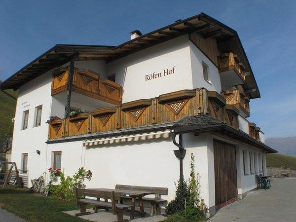 Foto esterno in estate Röfen Hof