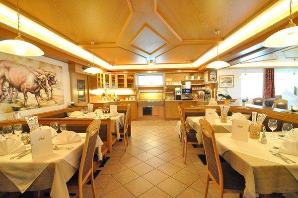 Il ristorante Stelvio Traube