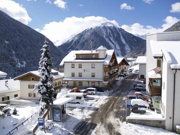 La posizione Hotel Traube Stelvio