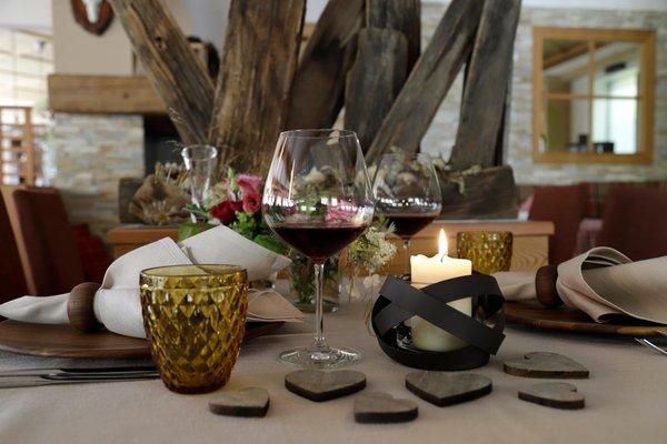 The restaurant Avelengo / Hafling Falzeben