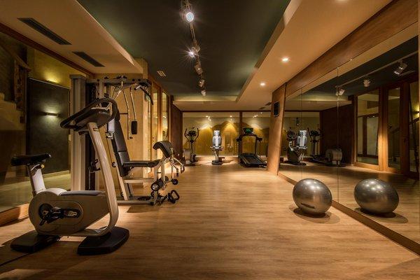 Foto della zona fitness Hotel Diamant