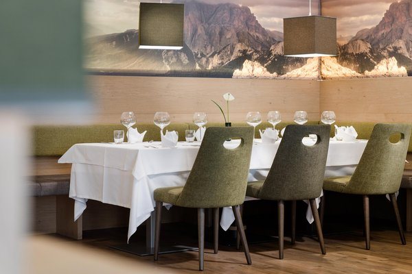 Il ristorante San Cassiano Diamant