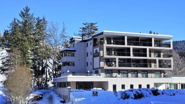 Foto invernale di presentazione Christine Apartment Hotel