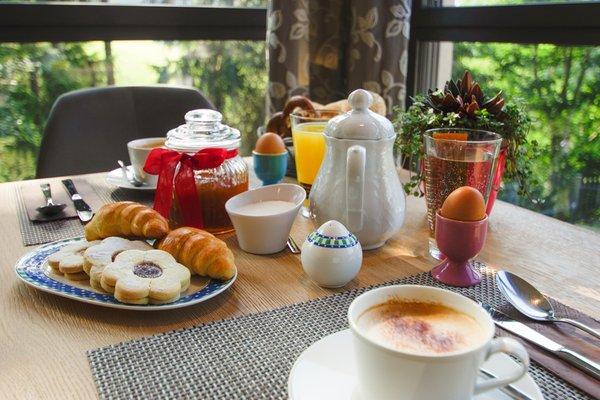 La colazione Christine Apartment Hotel