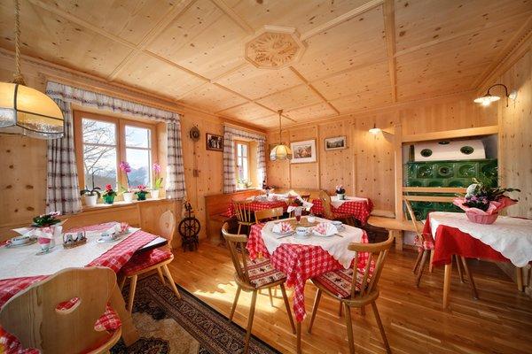 Il ristorante Avelengo Steinerhof