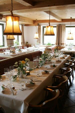 Il ristorante Madonna di Senales (Val Senales) Rainhof