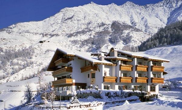 Foto invernale di presentazione Hotel Am Fels