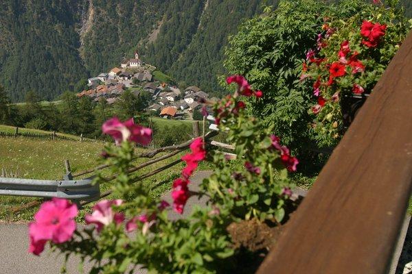 La posizione Camere + Appartamenti in agriturismo Untervernatschhof Monte Santa Caterina