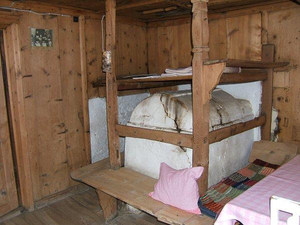 La zona giorno Untervernatschhof - Camere + Appartamenti in agriturismo 3 fiori