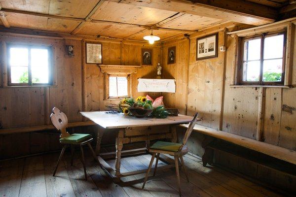 Foto della stube  Camere + Appartamenti in agriturismo Untervernatschhof