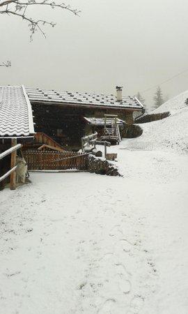 Foto esterno in inverno Untervernatschhof