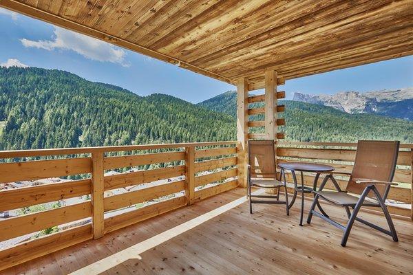 Foto del balcone Dolomiti Wellness Hotel Fanes