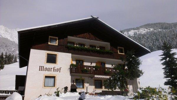 Foto esterno in inverno Moarhof