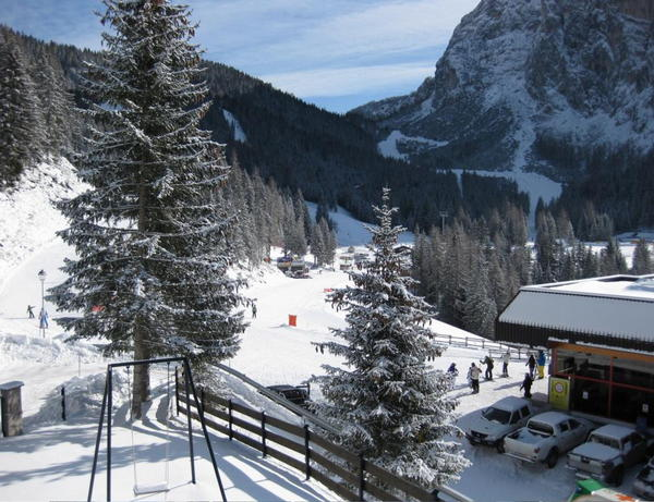 Lage Ferienwohnungen Il Nido sul Civetta Alleghe