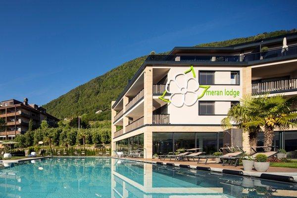 Foto estiva di presentazione Hotel La Maiena Meran Resort