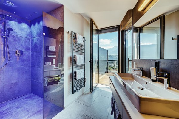 Foto del bagno Hotel La Maiena Meran Resort