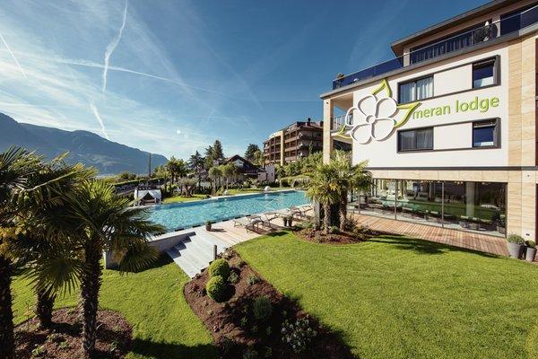 Foto esterno in estate La Maiena Meran Resort